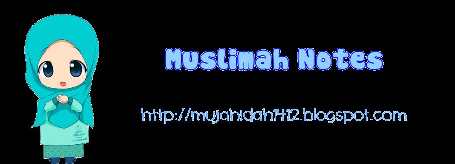 Muslimah Notes