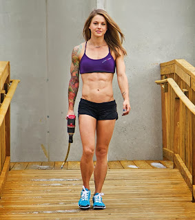 Christmas Abbott Workout at Nascar Pit Crew