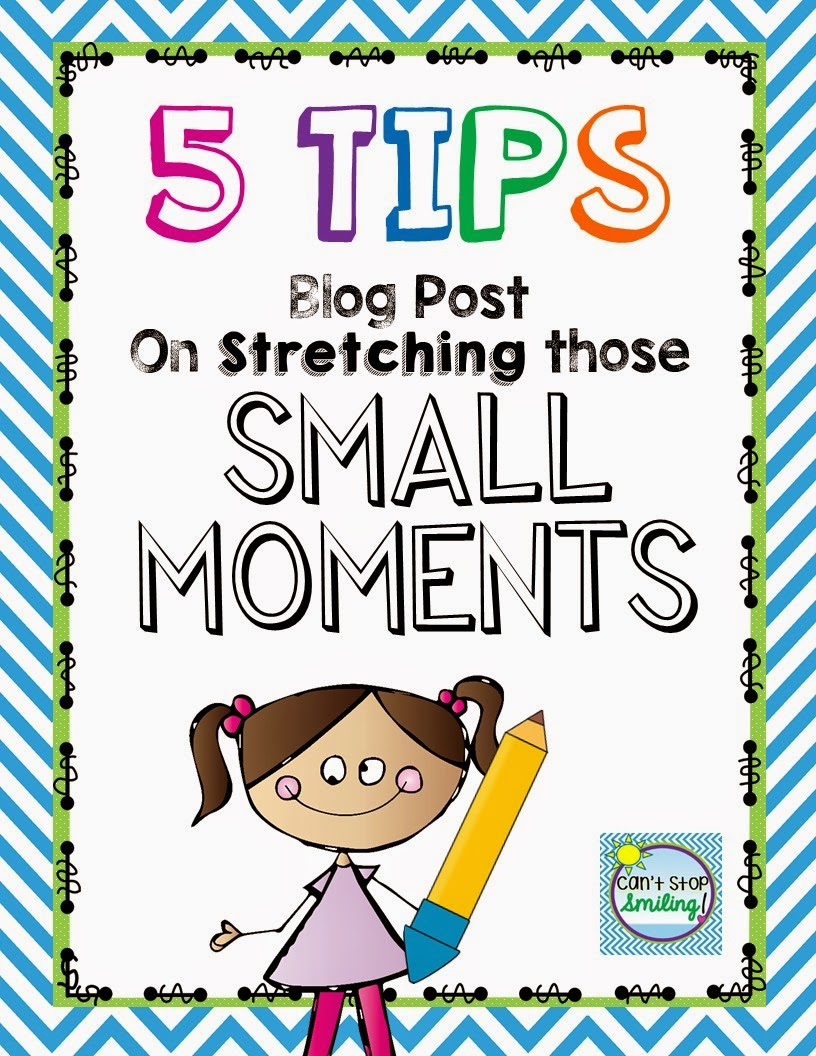 Small moments writing for big impact with narratives
