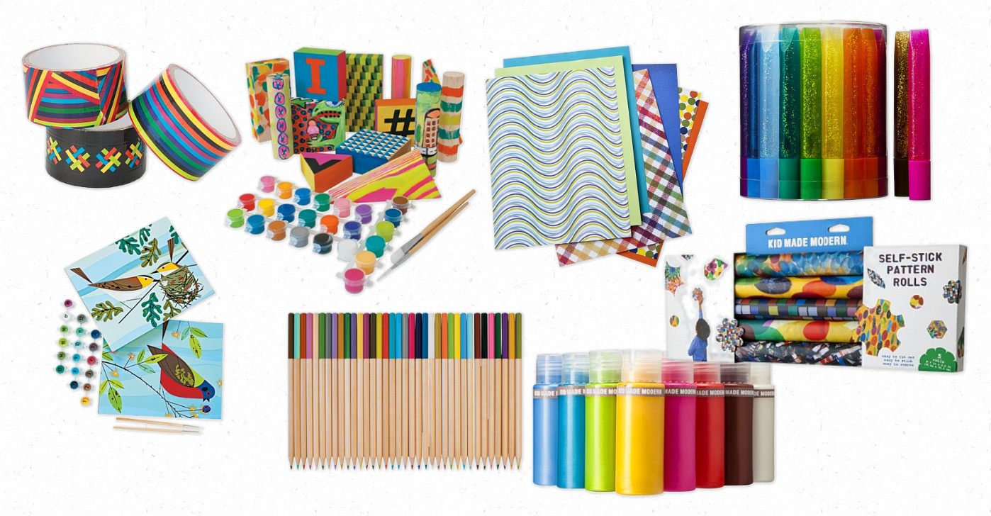 Kids art and craft supplies the image for Children s arts and crafts supplies