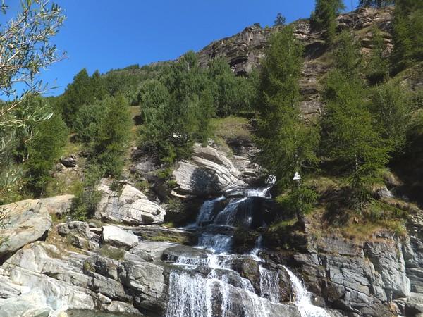 Italie Aoste Aosta cascade lillaz cogne grand paradis gran paradiso