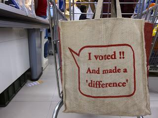 «Я проголосував! І мій голос має значення.»