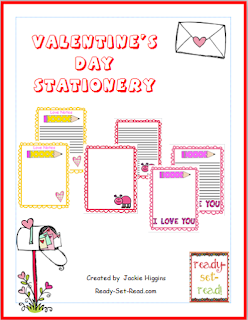 Valentines Day, Printables, Activities for kids, ready set read, image
