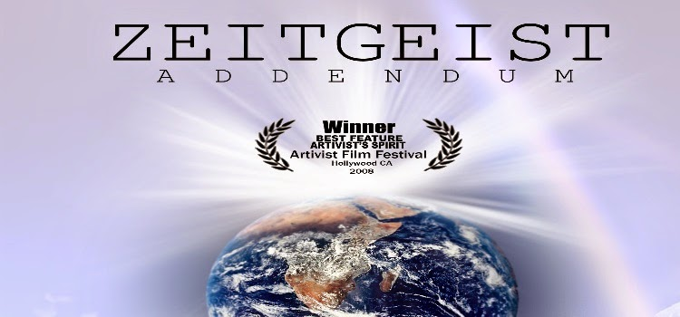 Zeitgeist Addendum segunda parte del documental Zeitgeist