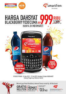 Gambar promo harga BlackBerry Curve 3G 9330