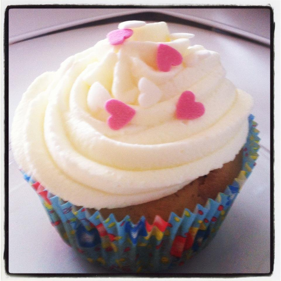 Dancing Cupcakes: Himbeer-Kokos-Cupcake!