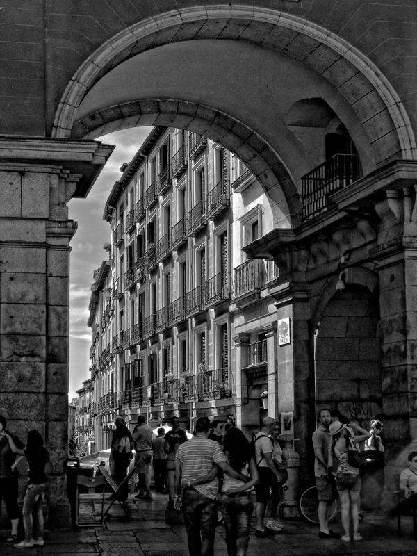 Arc en PlazaMayor Arc+plaza+mayor+mic