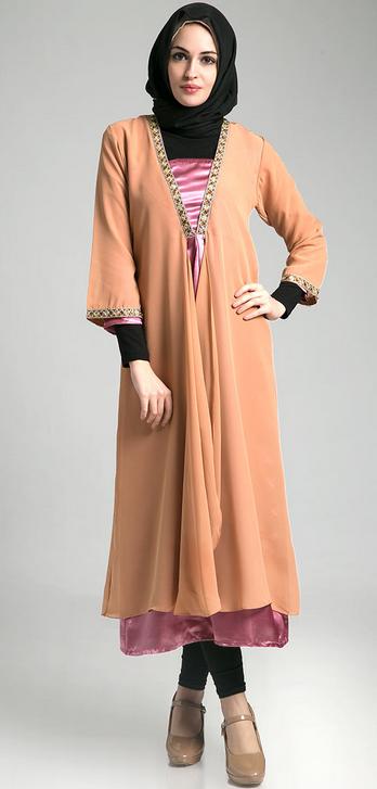 Koleksi Model Baju Dress Muslim untuk Remaja Modern Terbaru 2015