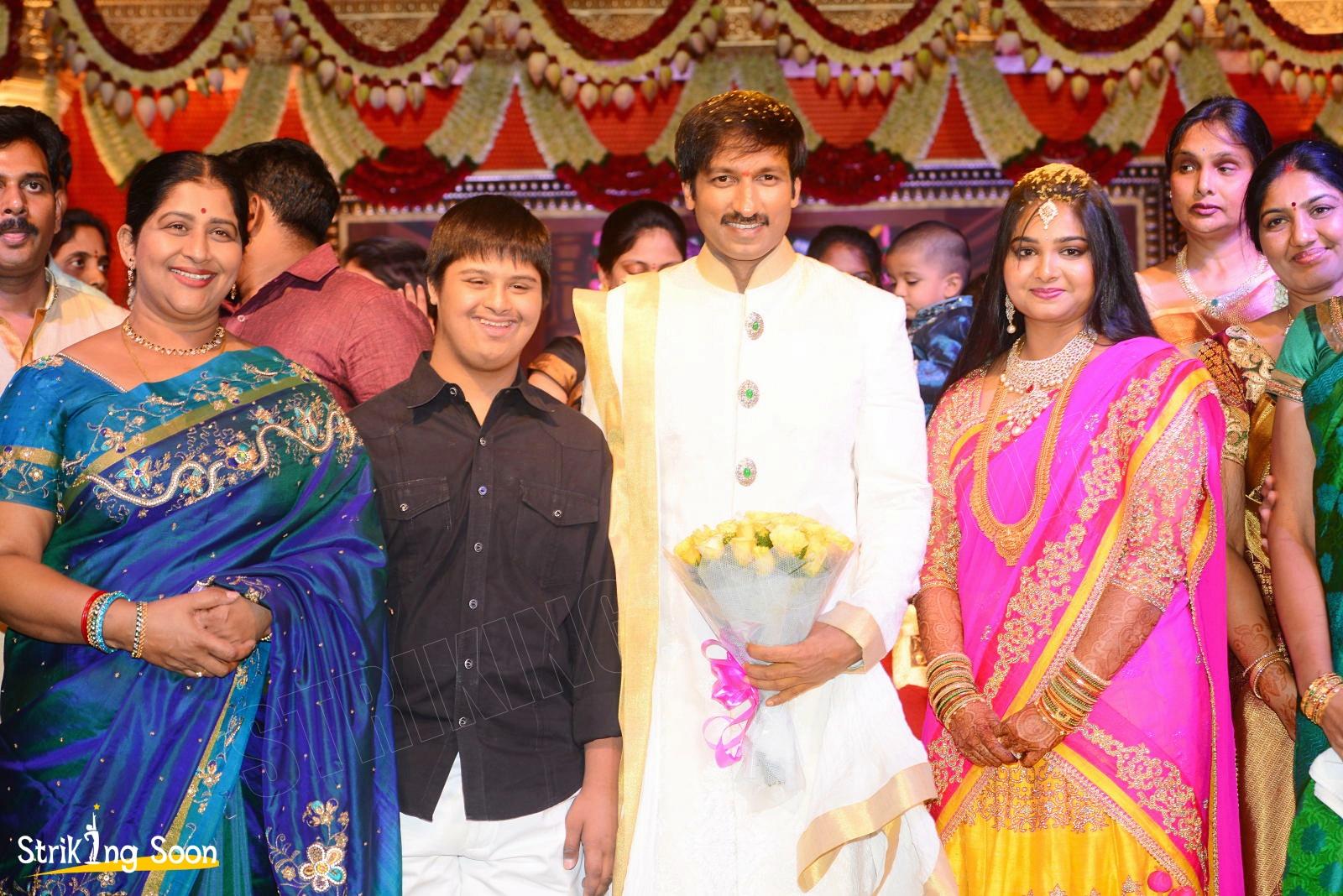 Jagapathi Babus Daughter Meghanas Wedding Venkatesh