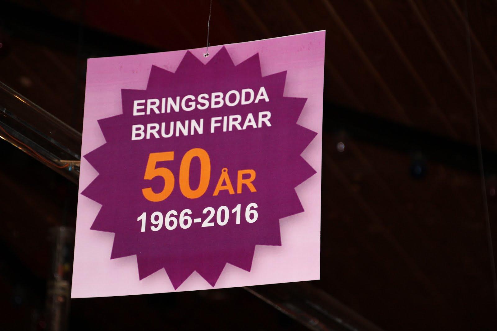 Eringsboda brunn 50 år