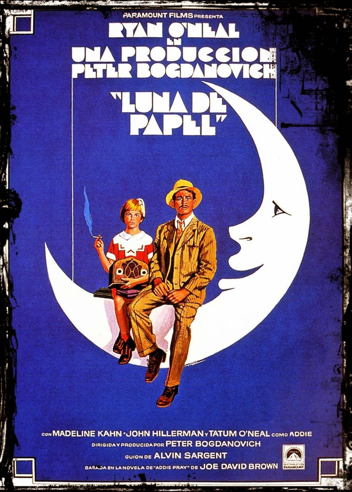 Luna, papel, Peter, Bogdanovich