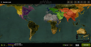 atWar afterwind world map game risk like browser war game