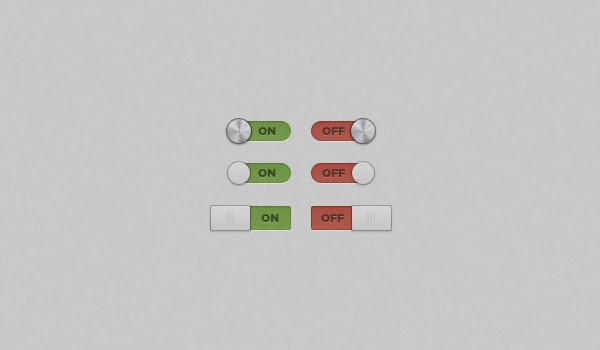 On/Off Switches and Toggles