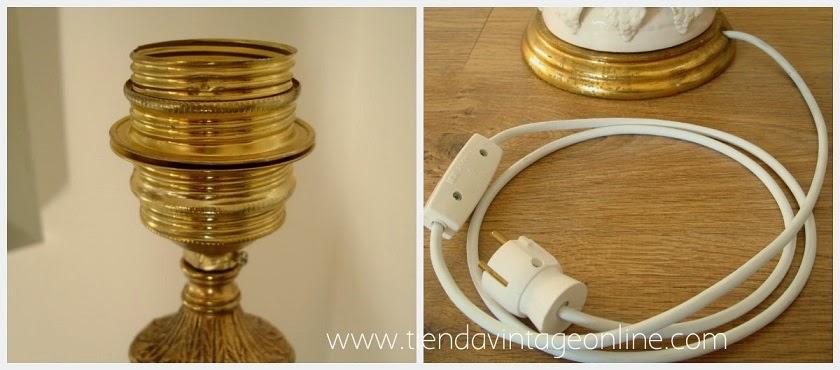 Lámparas manises restauradas