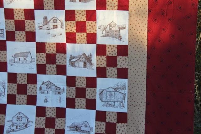 Sew And Sow Farm Irish Chain Barn Quilt
