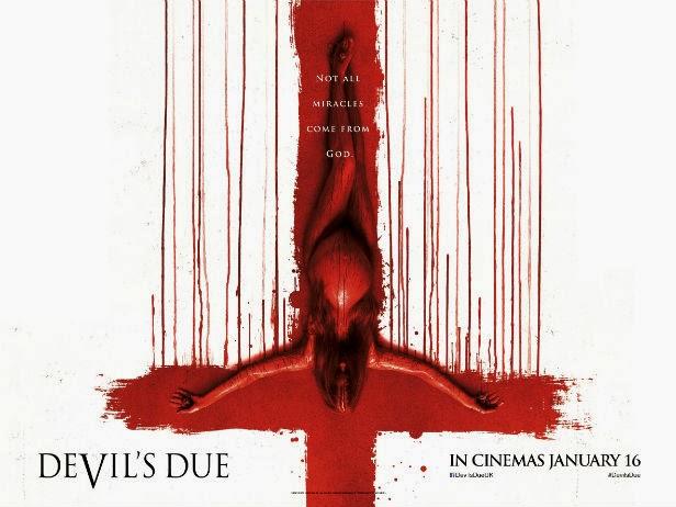Devil's Due, poster, bebé diabólico