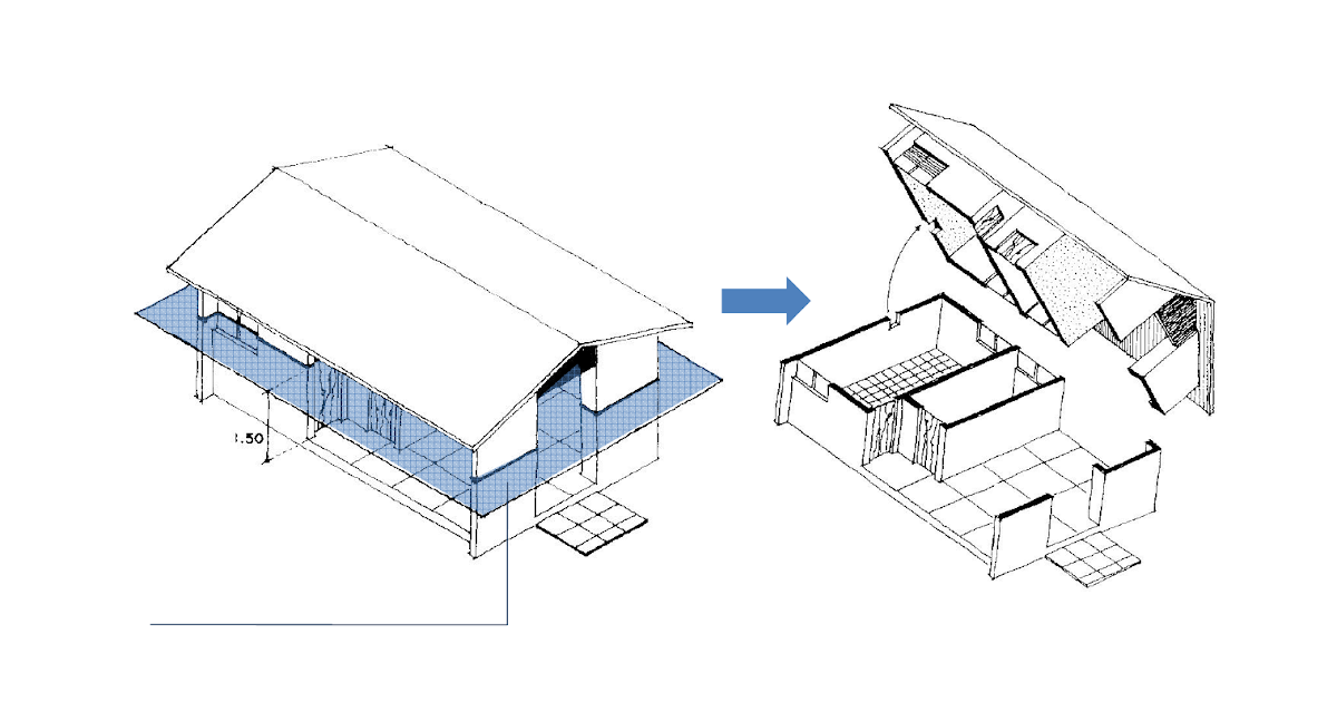 Arquitetura Planta Baixa E Cortes