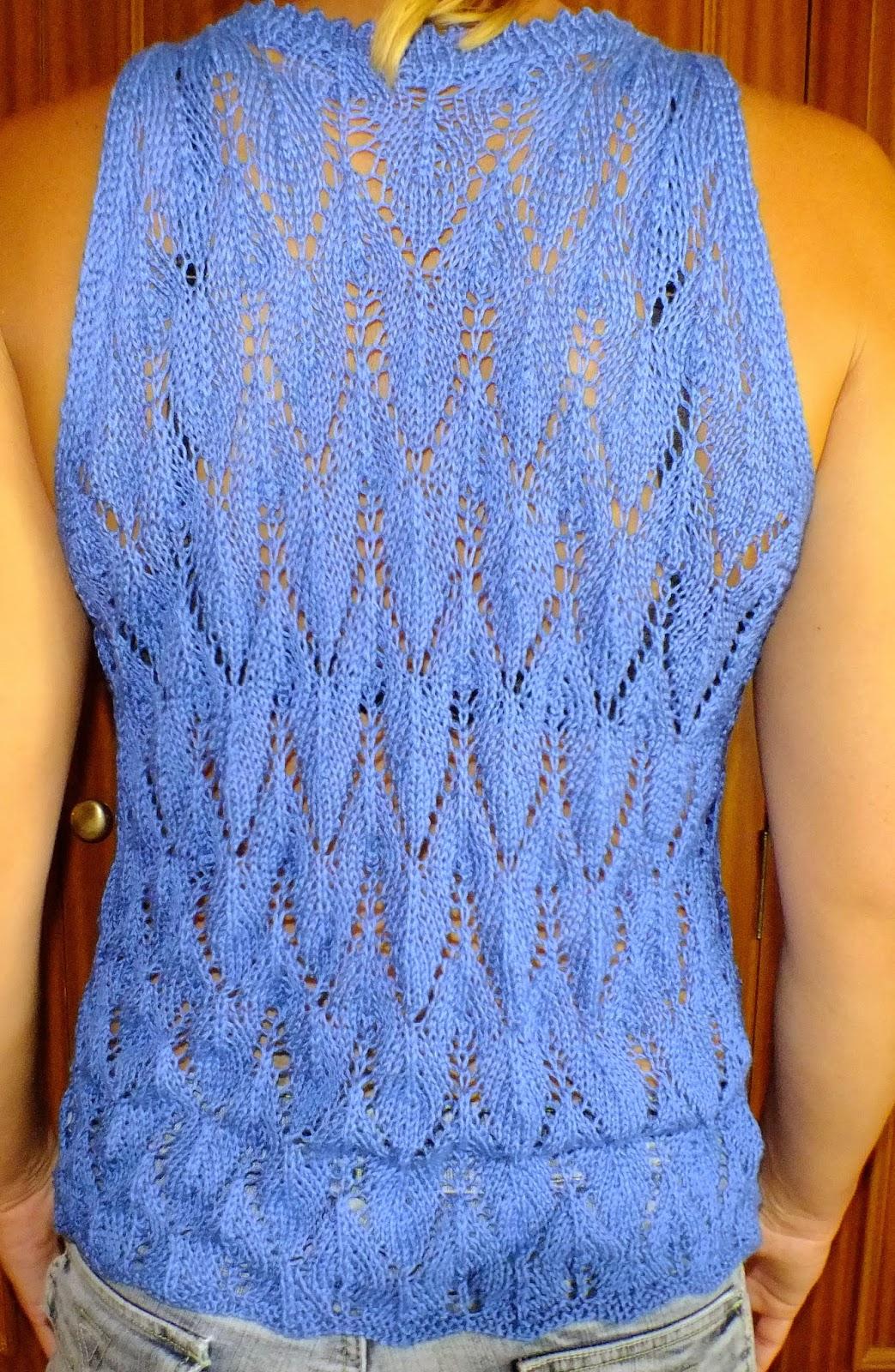 Mis labores jersey de verano hecho a mano - Jerseys faciles de hacer ...
