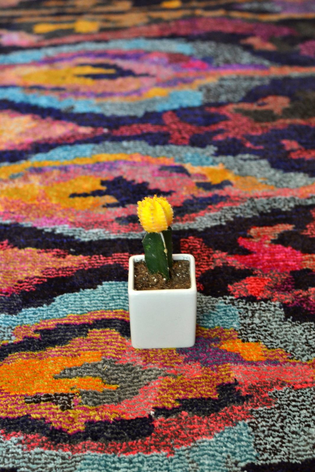 Bold Pattern, Rug, Cactus, Cacti