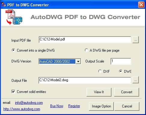 any pdf to dwg converter software free download