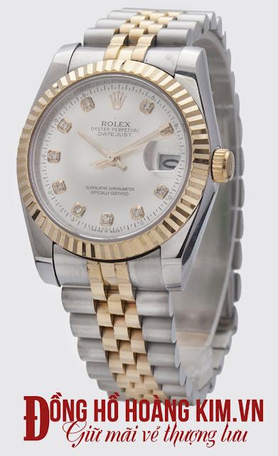 Đồng hồ đeo tay nam dây inox cao cấp giá rẻ Rolex