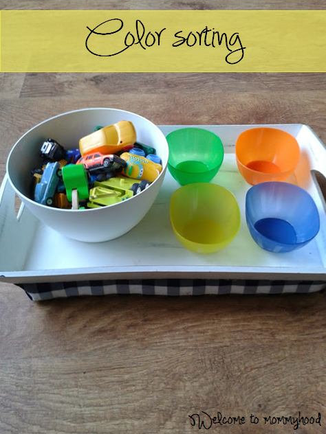 Welcome to Mommyhood: Montessori inspired toddler activities