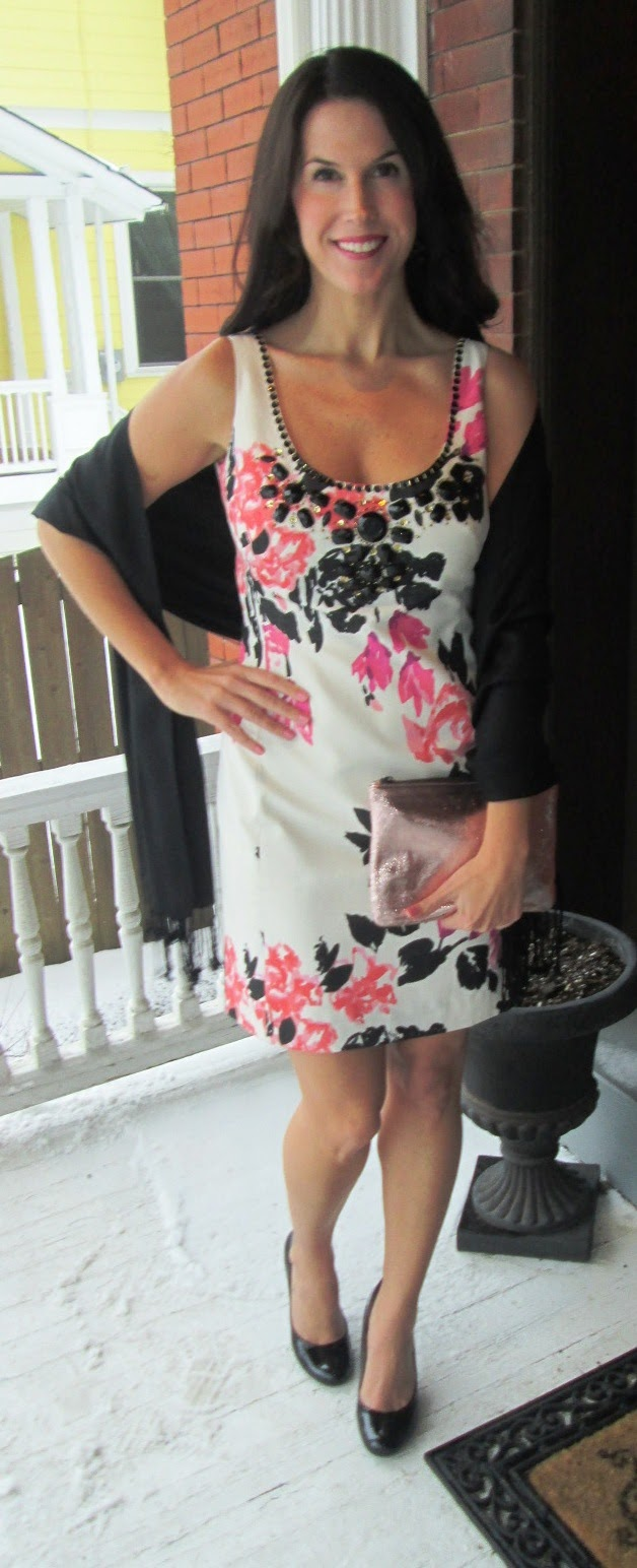 colorful corporate cocktail attire featuring lilly pulitzer