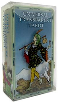 Universal Transparent Tarot Lo Scarabeo กล่องไพ่ Box Card deck ไพ่ทาโรต์ใส ไพ่ทาโร่ ไพ่ทาโรต์ ไพ่ยิปซี