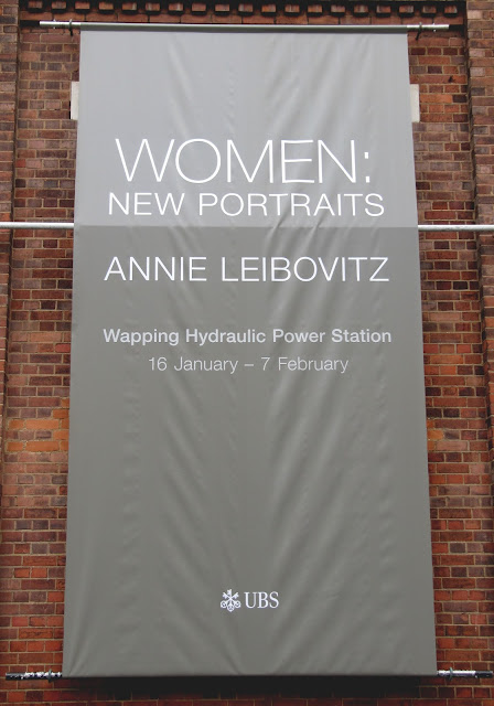 London, Wapping, Annie Liebowitz, Wapping Hydraulic Power Station
