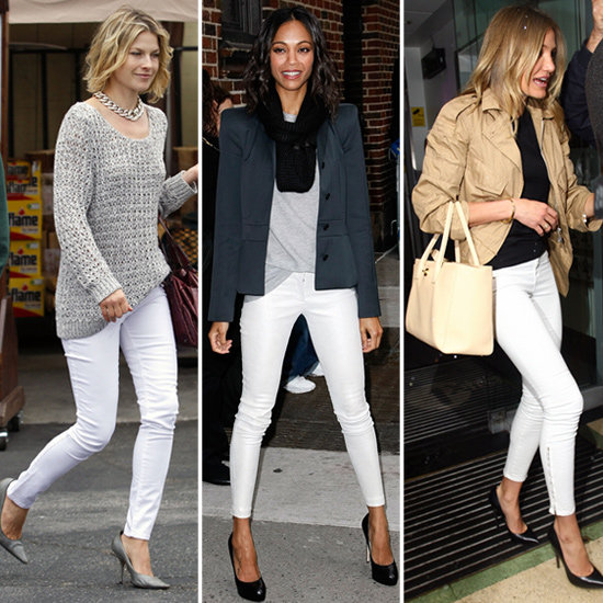 Trendy Tuesday: White Jeans | The Style Brunch