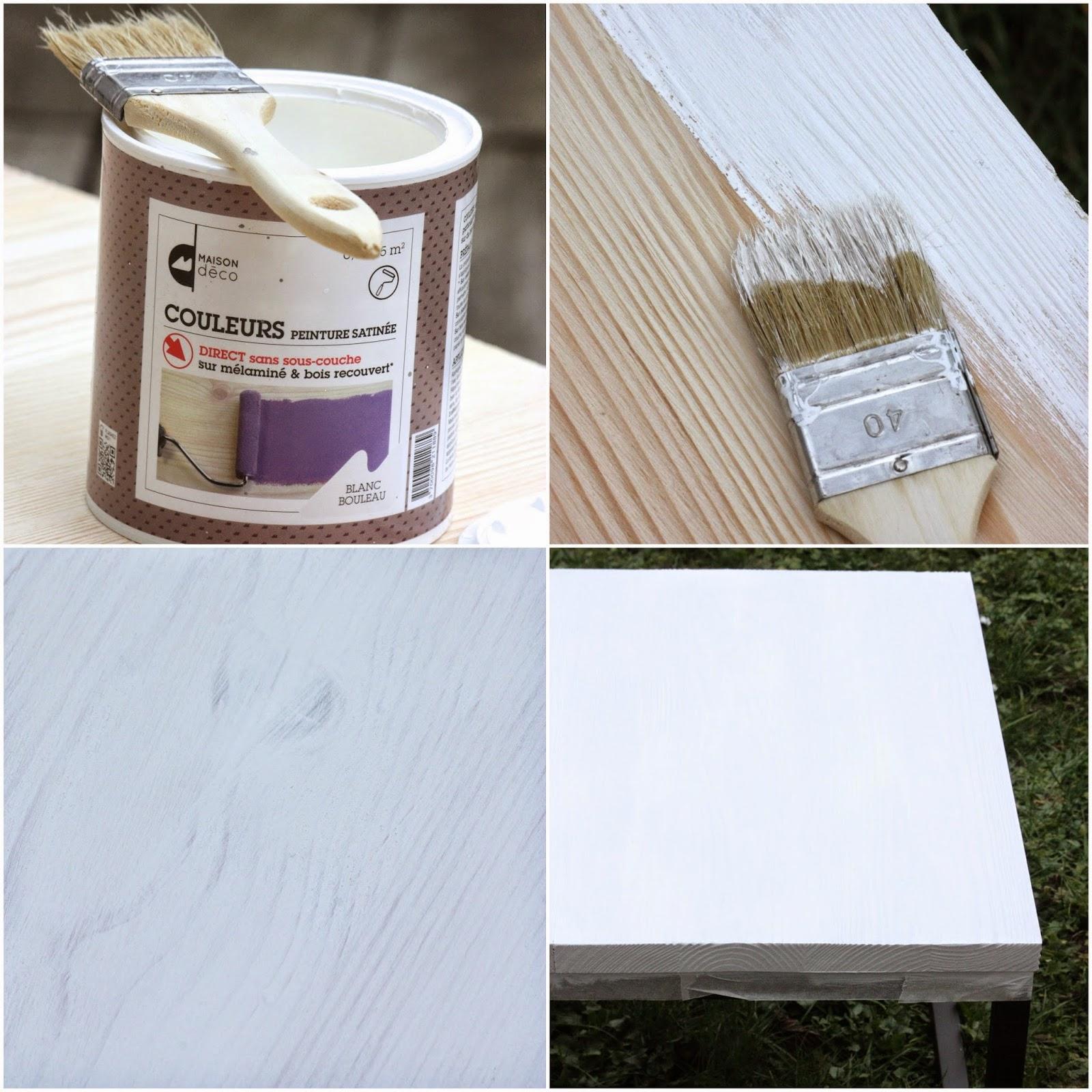 Un Nouveau Regard Tuto Peinture Une Table Basse Unique