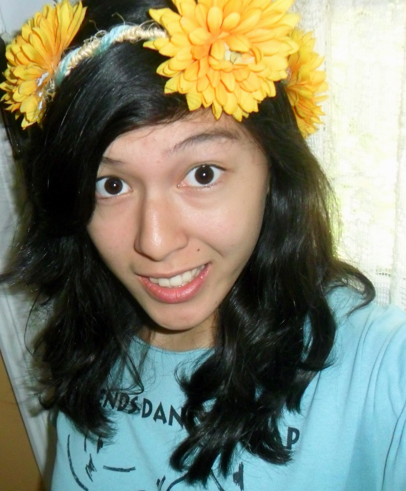 Scissors With Gusto Peace Love And Floral Headbands Flower Crown