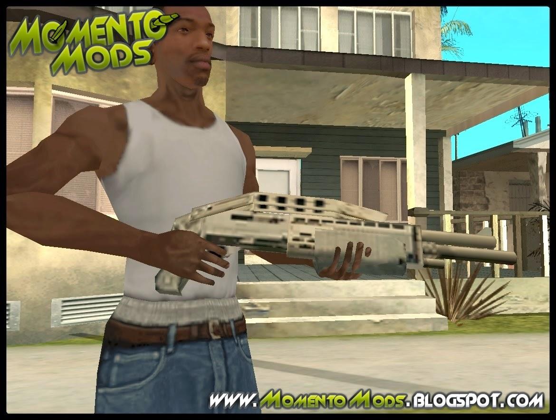 GTA SA - Mãos Do CJ Em HD