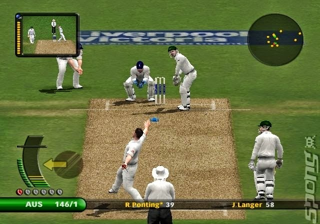 Ashes Match inside Cricket 2007