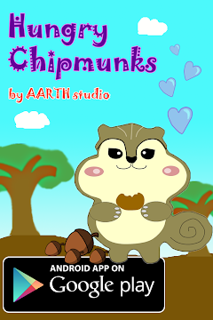 Hungry Chipmunks - games