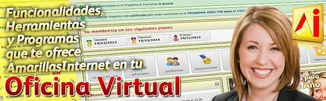 Oficina Virtual Amarillas Internet