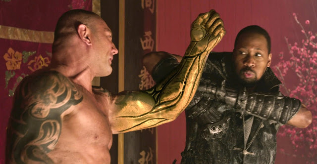 RZA and Batista in Iron Fists