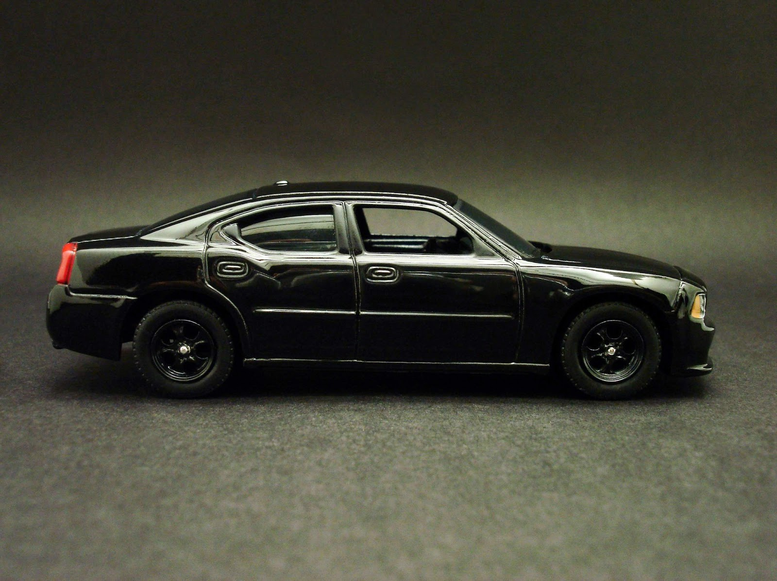 Diecast hobbist 2008 dodge charger black unmarked police car for 2008 dodge charger motor