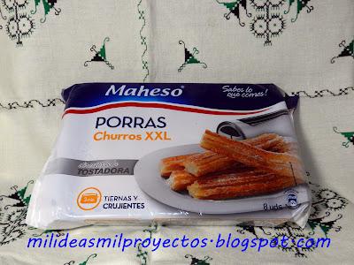 Y PARA DESAYUNAR EL DOMINGO........CHOCOLATE A LA TAZA CON PORRAS MAHESO Y SORTEO