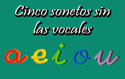 sonetos sin vocales