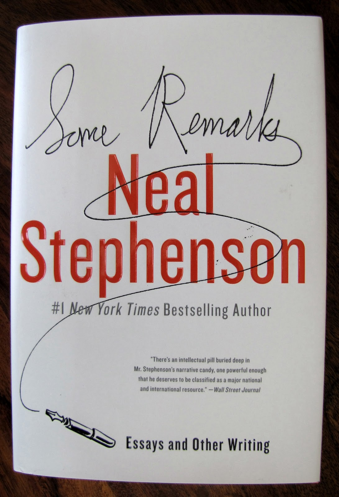 neal stephenson essay How did neal stephenson do it way back in 1996, he managed to make what's clearly the most boring subject on earth -- transcontinental data cable installation-- into a clever, engaging.