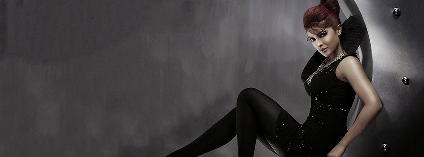 Facebook Cover Of Priyanka Chopra In Black Dress.