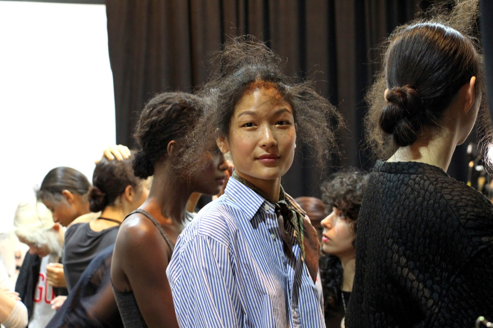 Tracy Reese backstage new york fashion week nyfw ss2016 spring summer 2016 snapshots of my closet
