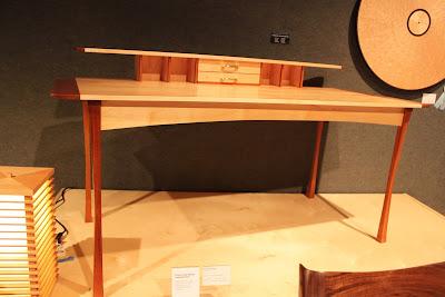 Frank Lloyd Wright inspired desk by David Richter