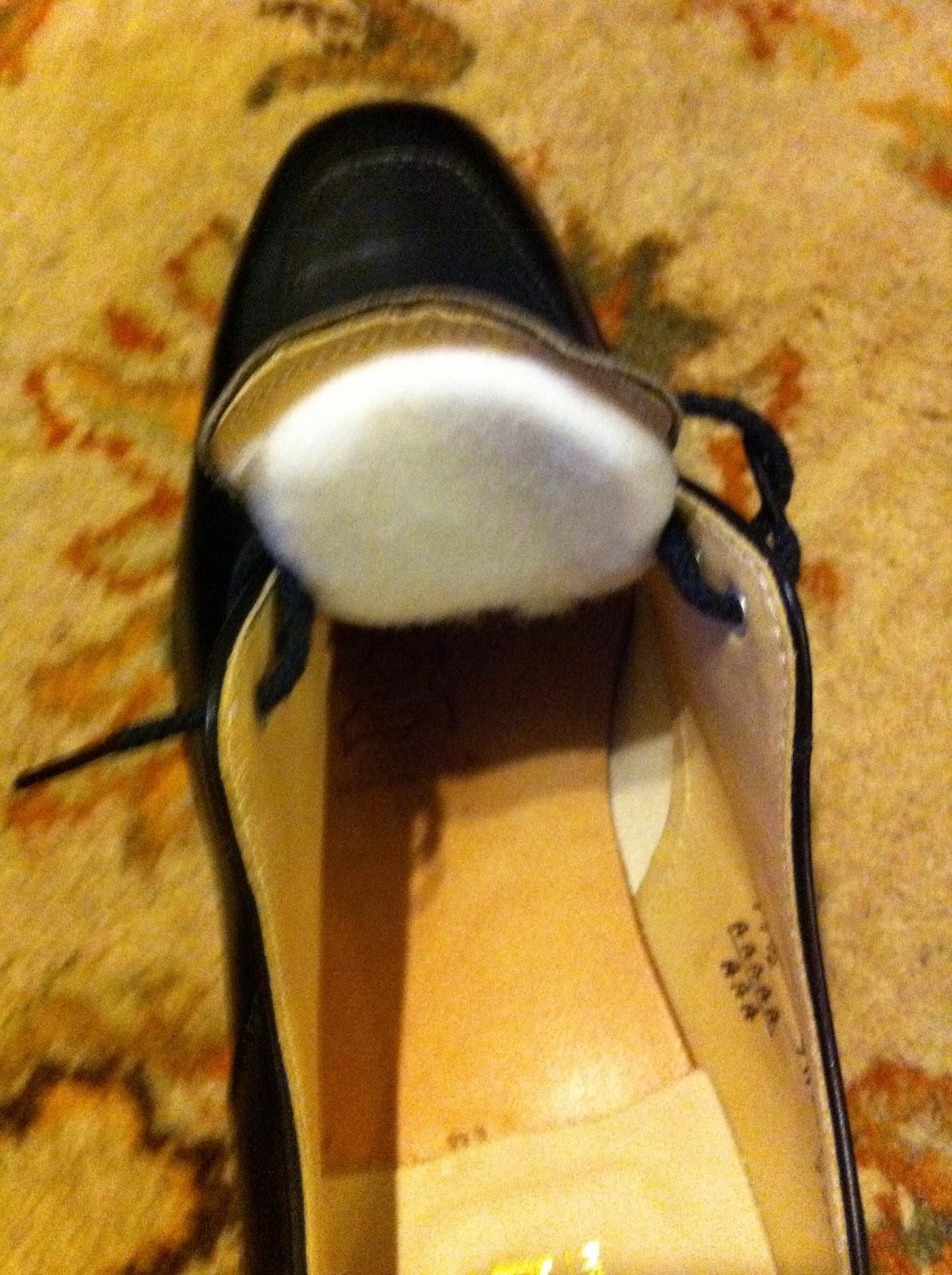 för stora skor