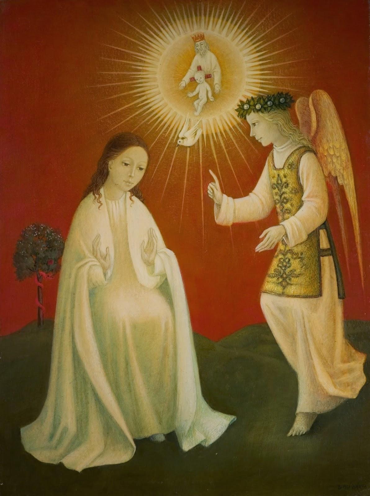 annonciation à Marie et Incarnation de Jésus - Prières catholiques