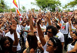 A GREVE CONTINUA NA BAHIA