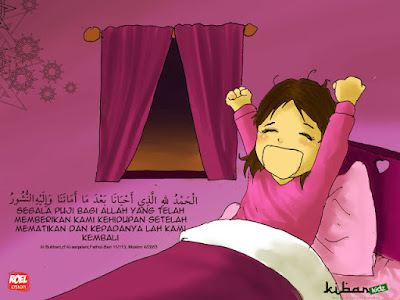 INILAH Sunnah Rasul ketika Bangun Tidur