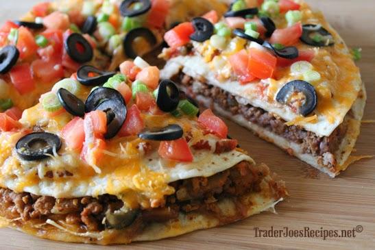 Mexican Pizza Recipe ~ Easy Recipes