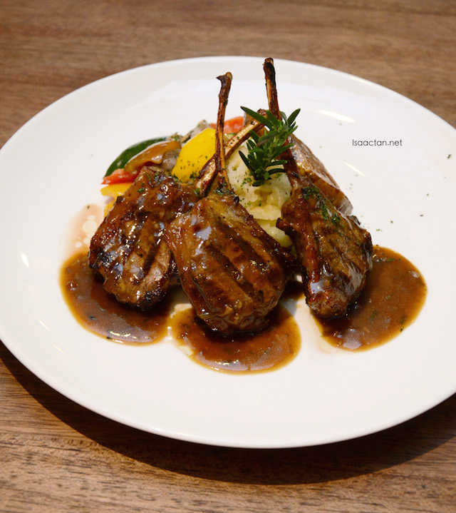 Grilled Lamb Cutlets - RM48